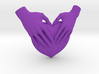 EmeDeÚ Necklace 3d printed Purple Strong and Flexible Polished