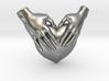 EmeDeÚ Necklace 3d printed Raw Silver