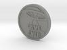 HEADS n TAILS Arcade / Pinball Coin - 2015 3d printed