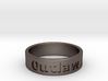 Outlaw Mens Ring 20.6mm Size11 3d printed