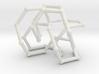 Pretzel knot in FCC lattice 3d printed