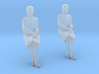 Patient Sitting Mature Woman 3d printed