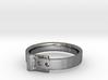 Belt Buckle Ring - Sz. 7 3d printed