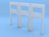 Arched Cross Girders - set of 3 (N-scale) 3d printed