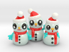 SNOWMEN 3d printed