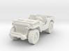 Jeep airborne 1/72 3d printed