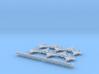 F-35 (10x) (1:340) & Sea Sparrow Launcher (1:300) 3d printed