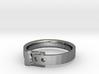 Belt Buckle Ring - Sz. 9 3d printed