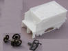 4 Wheel Tender With Coal 3d printed Wheels and a coupling must be obtained separately