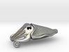 Cuttlefish Pendant (metals) 3d printed