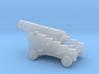 1/72 Scale 12 Pounder Naval Gun 3d printed