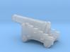1/87 Scale 18 Pounder Naval Gun 3d printed