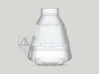Life3D Weather Balloon Capsule - Top Section 3d printed Full Design