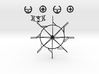 Vertical Axis Turbine - Strandbeest Addon (ver1) 3d printed