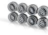 SSR Jilba 8-6 Hot Wheels Rims 3d printed