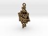 Fractal Talisman - El corazón del matemático 3d printed