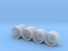RSR Wheels 3d printed