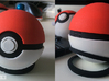 Pokeball - Switch and panels - 1:1 scale 3d printed