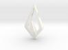 """""""Hidden Heart"""" NIMBUS, pendant 3d printed"""