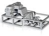 N Scale Cast Pilot Kit for Minitrix K4 3d printed