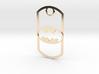 Batman dog tag 3d printed