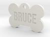 Cosplay Charm - Bruce Dog Bone ID Tag 3d printed