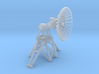 1/72 SPG-25 Radar Antenna, open dish with supports 3d printed