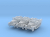 Sdkfz 11 (open) (window up) (x3) 1/220 3d printed