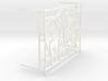 1:12 Balustrade, balcony, railing  French door 3d printed