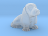 S Scale Basset Hound 3d printed This is a render not a picture