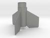 Aerobee Hi Fin Unit BT55 for 24 mm motors 3d printed