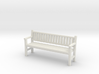 Park Bench - 4mm Scale 3d printed