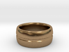 Simple Ridged Ring - Size 23 3d printed