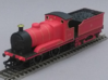 0-4-0 Inside Cylinder Tender Engine 3d printed Tender and chassis not included