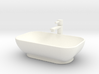 Bath Sink with tap in 1:12 and 1:24 3d printed
