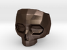 Lapidated Skull - Size 10 (inner diameter = 19.76  3d printed