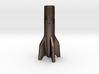 V2 Rocket Cigarette Stubber 3d printed V2Rocket Cigarette Stubber in matte bronze steel