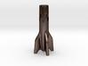 V2 Rocket Cigarette Stubber 3d printed V2Rocket Cigarette Stubber in polished bronze steel