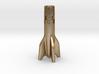 V2 Rocket Cigarette Stubber 3d printed V2Rocket Cigarette Stubber in polished gold steel