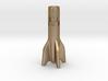 V2 Rocket Cigarette Stubber 3d printed V2Rocket Cigarette Stubber in matte gold steel