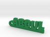 ABDUL_keychain_Lucky 3d printed