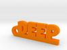 DEEP_keychain_Lucky 3d printed