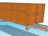 1/64th 10 foot Roll off type Dumpster 3d printed shown on body, available separately