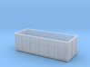 1/87th 10 foot Roll off type Dumpster 3d printed