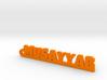MUSAYYAB_keychain_Lucky 3d printed