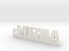 MIZHA_keychain_Lucky 3d printed