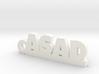 ASAD_keychain_Lucky 3d printed