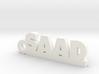 SAAD_keychain_Lucky 3d printed