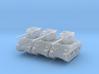 M4A3 Sherman 76mm (x3) 1/285 3d printed