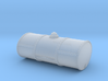 S Scale Singe Cell Fuel Tank (End Drain) 3d printed